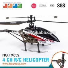 2.4 G 4CH одним лезвием Р/У вертолет с гироскопа rc вертолет запасных частей сертификат CE/FCC/ASTM