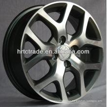 Alloy rodas de carro / aro de alumínio da roda Prata 15 polegadas