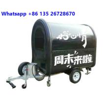 Мобильный прицеп для перевозки пищевых продуктов для кофе
