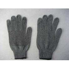 7g schwarzer String stricken PVC Single punktiert Handschuh