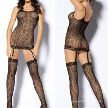 New Fashion Fishnet Open Crotch Underwear Sexy Black Lingerie (53008)
