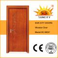 China Best Sell Veneer Solid Wooden Door (SC-W057)