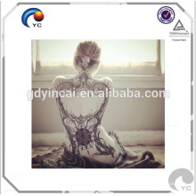 "Crazy men women full back body art non-toxic tattoos sticker(fashion design) Color Styles Temporary Tattoos Body Art Beauty Makeup Shoulder Back Tattoo Sticker <<< ""Body like a back road-my girl""girls tattoo fake arm tattoos with stylish design <<<"