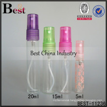15/20ml colorful spray perfume bottle, refillable spray perfume bottle, wholesale perfume bottle in dubai