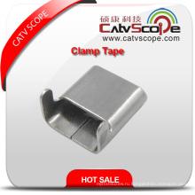 Инструмент для крепления волоконно-оптического кабеля, кабельная лента