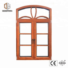 arched wood window grill design wood aluminium french window