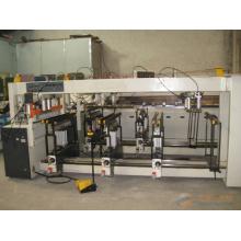Drei Reihen CNC Holz-Mehrbohrmaschine / CNC-Holzbohrmaschine mit Digitalanzeige