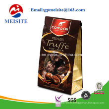 Three Side Seal Custom imprimé Stand up Pouch / Plastic Food Packaging