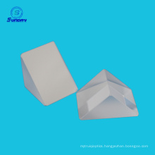Sapphire right angle prism with reflective coating