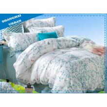 3 peças de algodão poliéster edredon de cama com conjunto de capa
