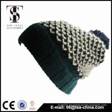 Gorra de béisbol del ganchillo del ganchillo del diseño el 100%