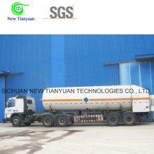 Liquefied Ammonia Medium 21.6m3 Volume Tank Container Semi-Trailer