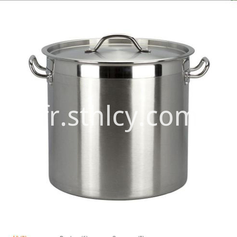 stainless sop pot