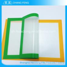 Eco-friendly recuperada 2015 de Material quente venda fibra de vidro cozimento do silicone esteira