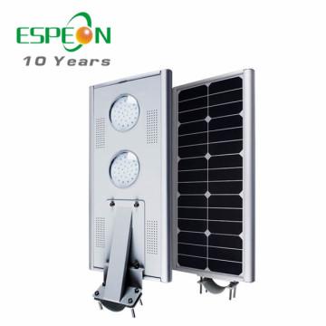 20W 25w 30W 40W 45W 50W al aire libre todo en una luz de calle solar llevada del sensor de movimiento
