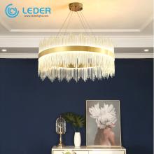 LEDER Antique Crystal Contemporary Chandeliers
