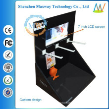 cardboard tool box Various styles 7 inch LCD screen free standing