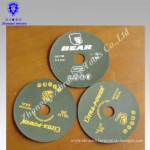 Resin over resin ceramic fiber disc fiber aluminum oxide fiber disc