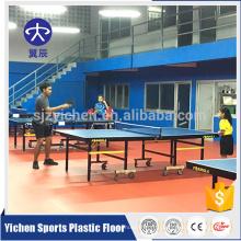 Plancher de tennis de table intérieur insonorisé plancher de tennis de table