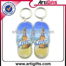 Nouvelle forme de chaussure de mode acrylique porte-clés
