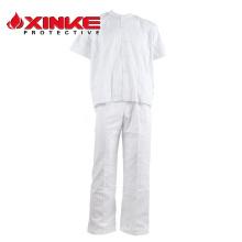 atacado uniformes médicos do hospital de algodão em linha