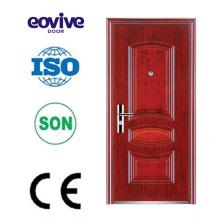 Puerta de panel metálico de venta caliente de alta calidad de diseño principal