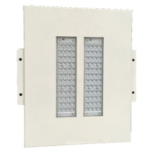 White Color 100W Petrol Station Gas Station Hanging or Recessed Canopy LED Light IP65