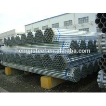 Tubo de aço redondo galvanizado mergulhado quente (BS padrão)