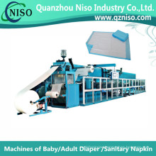 Stable Semi-Servo Underpad Manufacturing Machine with CE (CD150-HSV)
