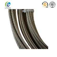 6 * 7 cable de alambre galvanizado