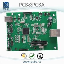 tablero de control del amplificador de potencia, placa de circuito del amplificador de potencia, tablero electrónico del amplificador de potencia