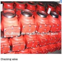 Válvula de alarma de hierro de fundición de arena para el servicio del OEM