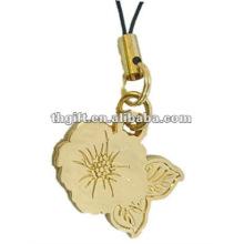 Fashional Metall Blume Form Handy-Riemen