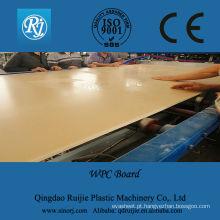Espuma de PVC linha de extrusão de placa, linha de extrusão de placa da espuma do PVC crosta, linha de produção de placa de espuma WPC
