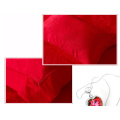 Super Soft Feather Velvet Thickening Warm Quilt Core Red Quilt for Wedding