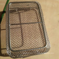 SUS 304 330 Stainless Steel Wire Mesh Basket / Filter Mesh Tray