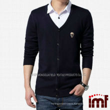 Newest Sexy Mens Sweater Preppy Style Cardigan Sweater