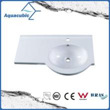 Artificial Stone White Bathroom Sink Bowls Acb0802