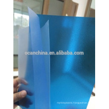 Colored Rigid PVC Sheet, Embossed Colored PVC Transparent Sheet with Good Quality for Binding Cover
