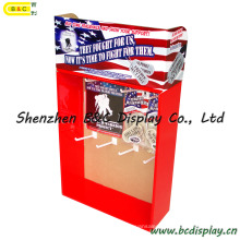 Display Stand with Hooks, Paper PDQ Display Box, Hooks Display Stand (B&C-D051)