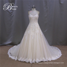 Sexy Sweetheart Bridal Gown Ruffled Tulle