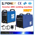 heavey duty three phase IGBT module 500 amp MMA inverter arc welding machine