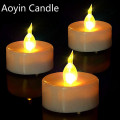 Led Electric Candle Color que cambia luces llevadas