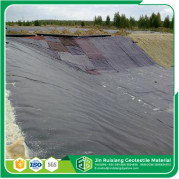 Geomembrana de revestimiento de estanque de granja de peces de hdpe virgen 100