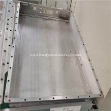 Aluminum battery trays for boats