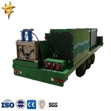 SX-ACM-914-750 hydraulic large span GI carbarn cold roll construction machine