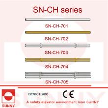 Corrimão da cabine do elevador com frame de aço inoxidável (SN-CH-701)