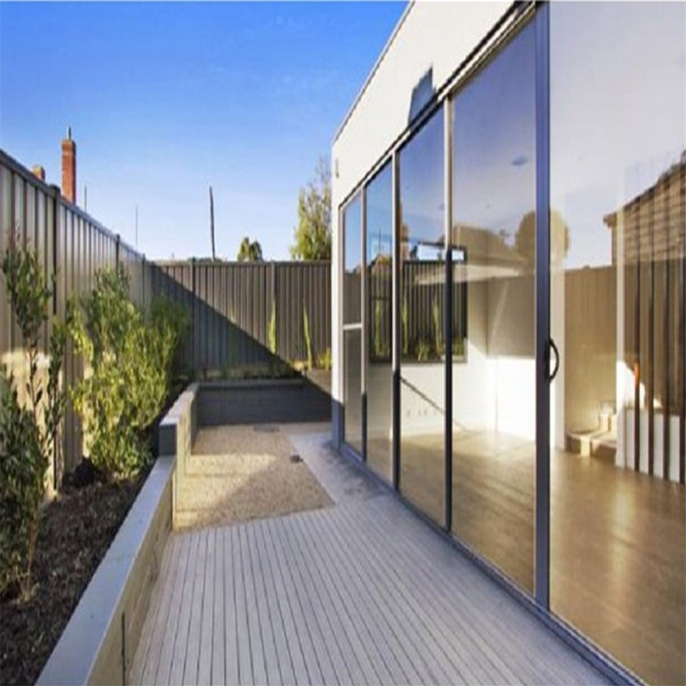 Double Glazing Aluminum Tilt Sliding Doors
