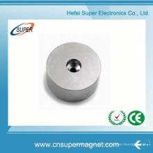 Ímãs de neodímio de disco (16 * 5mm) com furo