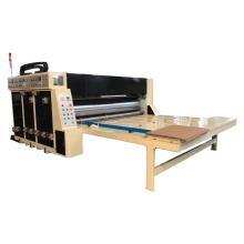 Corrugated carton box flexo printing slotting machine